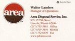 Area Disposal Service, Inc.