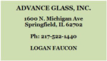 Advance Glass, Inc.