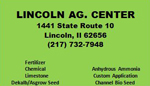 Lincolncoln Ag. Center