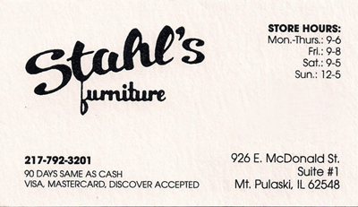 Stahl's Furniture