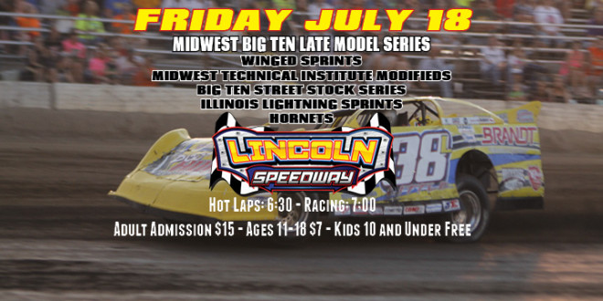 Big Ten Super Late Models Headline Friday July 18th Action