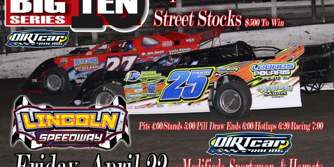 April 22 Lincoln Flyer UMP Invite