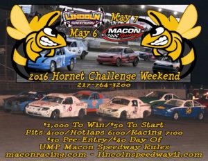 Lincoln Macon Hornet Challenge