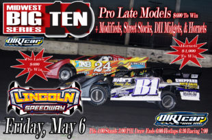 May 6 Lincoln Flyer UMP Invite
