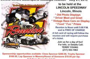Lincoln Speedway – Lincoln, Illinois